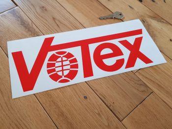 """Votex Cut Red Vinyl Sticker 12"""""""