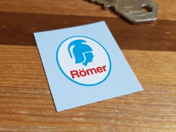 Römer Oval Helmet Sticker 30mm