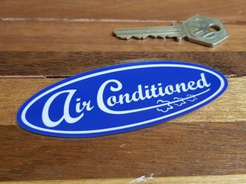 """Ford Air Conditioned Window Sticker 4"""""""