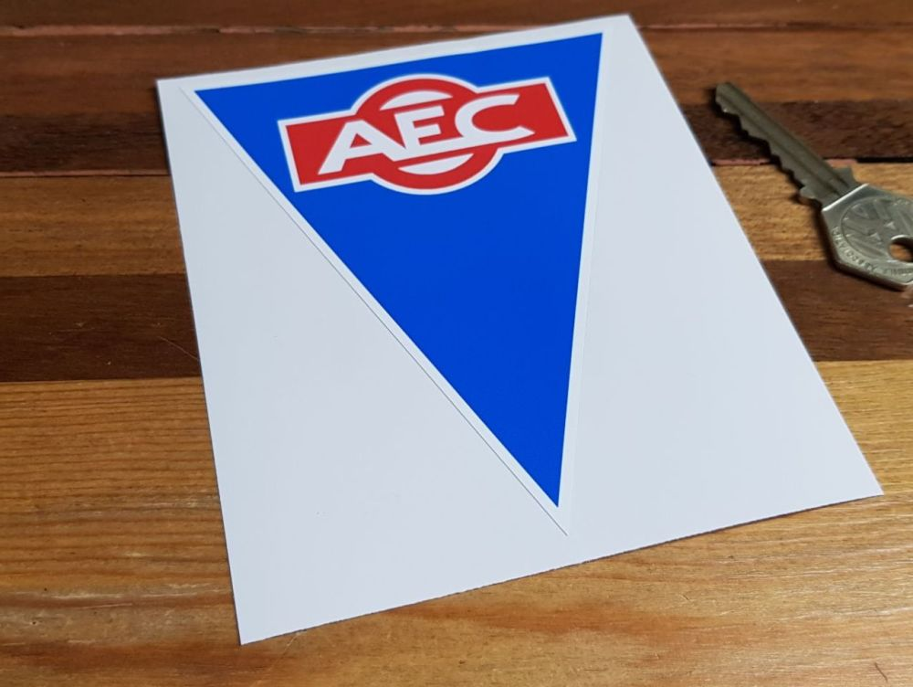 AEC Triangular Logo Sticker 4.75