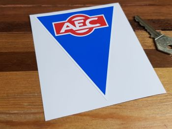 "AEC Triangular Logo Sticker 4.75"""