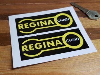 """Regina Chain Oblong Stickers - Close Cut, No Coachline - 4"""" Pair"""