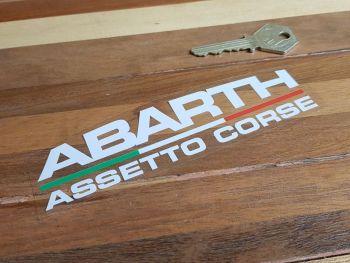"""Abarth Assetto Corse Body or Window Sticker 6"""""""