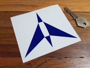 Avia Cut Vinyl Logo Sticker 4""