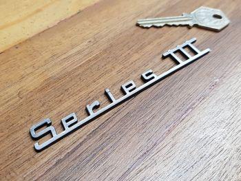 "Series III 3 Innocenti Script Style Laser Cut Self Adhesive Scooter Badge. 4.75""."