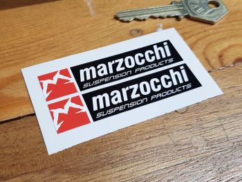 """Marzocchi Suspension Products Stickers 2.75"""" Pair"""
