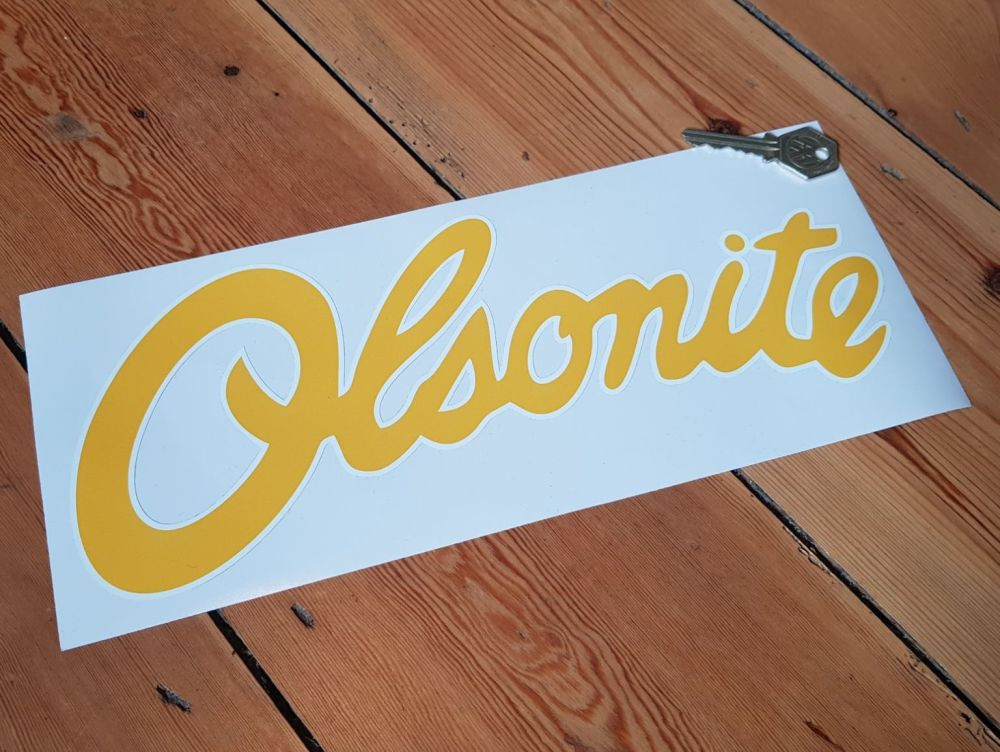 Olsonite Sponsorship Stickers 12