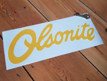 "Olsonite Sponsorship Stickers 12"" Pair"