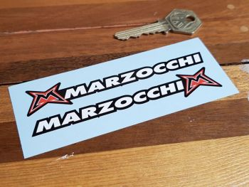 """Marzocchi M Handed Stickers 4.5"""" Pair"""