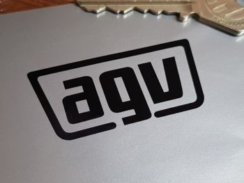 "AGV Helmets Cut Vinyl Stickers 2"" Pair"