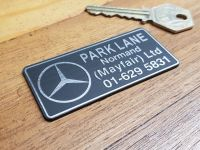 "Mercedes Park Lane Normand Self Adhesive Badge 2.75"""