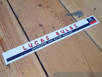 Lucas Bulbs Shelf Edge Sticker 12""