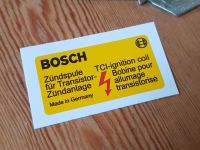 Bosch TCI Ignition Coil Sticker 2