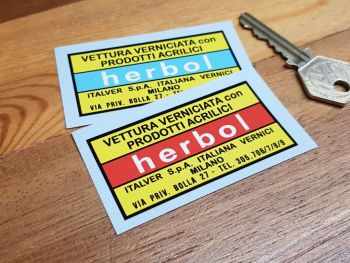 Herbol Paint Label Sticker 2.75""