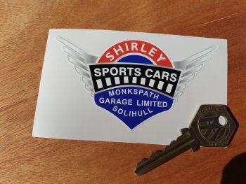 "Shirley Sports Cars Monkspath Solihull Sticker 4"""