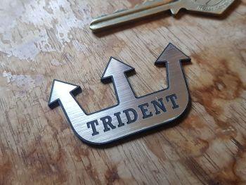 "Trident Logo Self Adhesive Badge 2"""