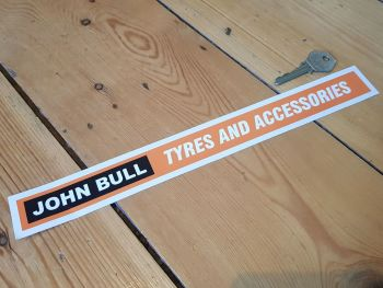 John Bull Tyres and Accessories Shelf Edge Sticker 12""