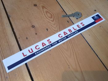 Lucas Cables Shelf Edge Sticker 12""