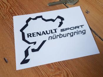 """Renault Sport Nurburgring Circuits Sticker 4.5"""""""