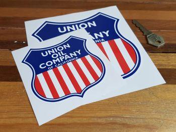 """Union Oil Company of California Shield Sticker - 4"""" or 6"""""""