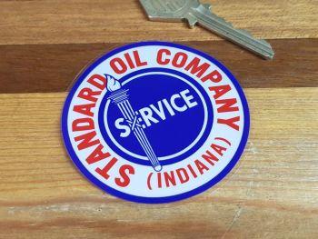 Standard Oil Company Service Sticker 70mm