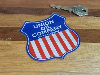 """Union Oil Company of California Shield Window Sticker - 3"""""""