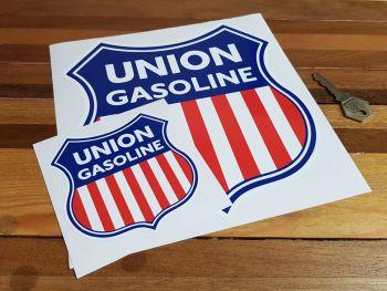 """Union Gasoline Shield Sticker - 4"""" or 8"""""""