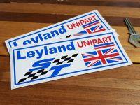 British Leyland ST Unipart UJ Stickers. 6