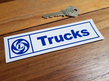 """British Leyland Trucks Sticker. 5.75""""."""