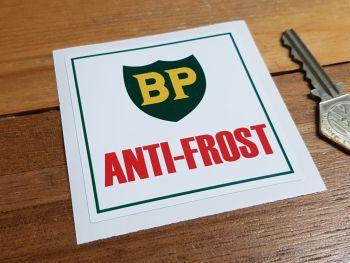 "BP Anti-Frost Sticker. 3""."