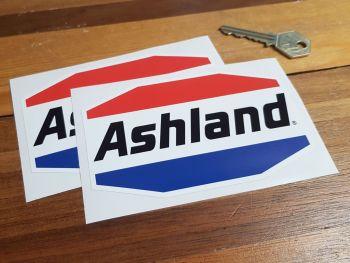 "Ashland Logo Stickers 5"" Pair"