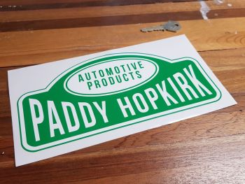 Paddy Hopkirk Automotive Products Sticker 9.5""