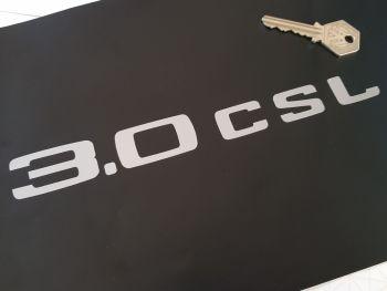 """BMW 3.0 CSL Text  Cut Vinyl Sticker 8.5"""""""