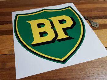 "BP Pre '58 Style Shield Sticker - 8.5"", 10"" or 12"""