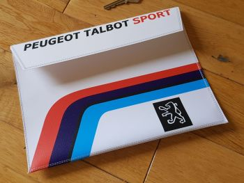 "Peugeot Talbot Sport Document Holder Toolbag. 10"". Slight Second 315."