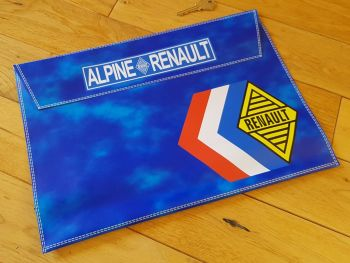 "Alpine Renault Document Holder Toolbag. 14.5"". Slight Second 267."