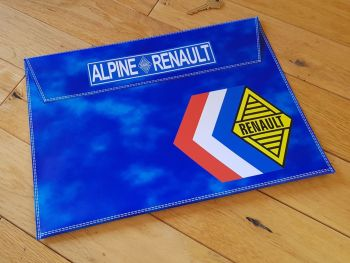 "Alpine Renault Document Holder Toolbag. 14.5"". Slight Second 035."