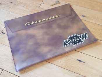 "Chevrolet Document Holder Toolbag. 14.5"". Slight Second 178."