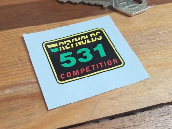 Reynolds 531 Competition Sticker - 40mm