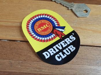 BMC Drivers Club Window Sticker 3.5""