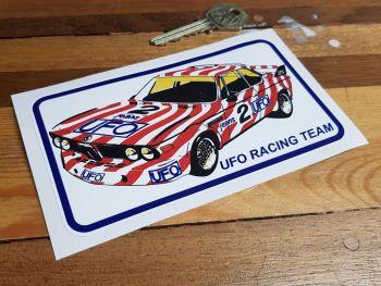 "UFO Racing Team BMW Sticker 5.5"""