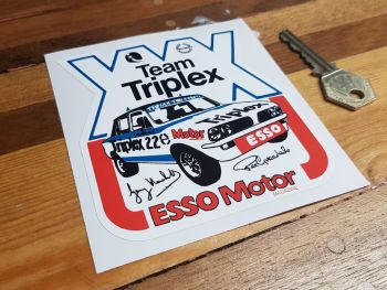 Triumph Dolomite Team Triplex Sticker 4.25""