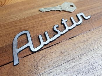 "Austin Script Style Self Adhesive Car Badge 5.5"""