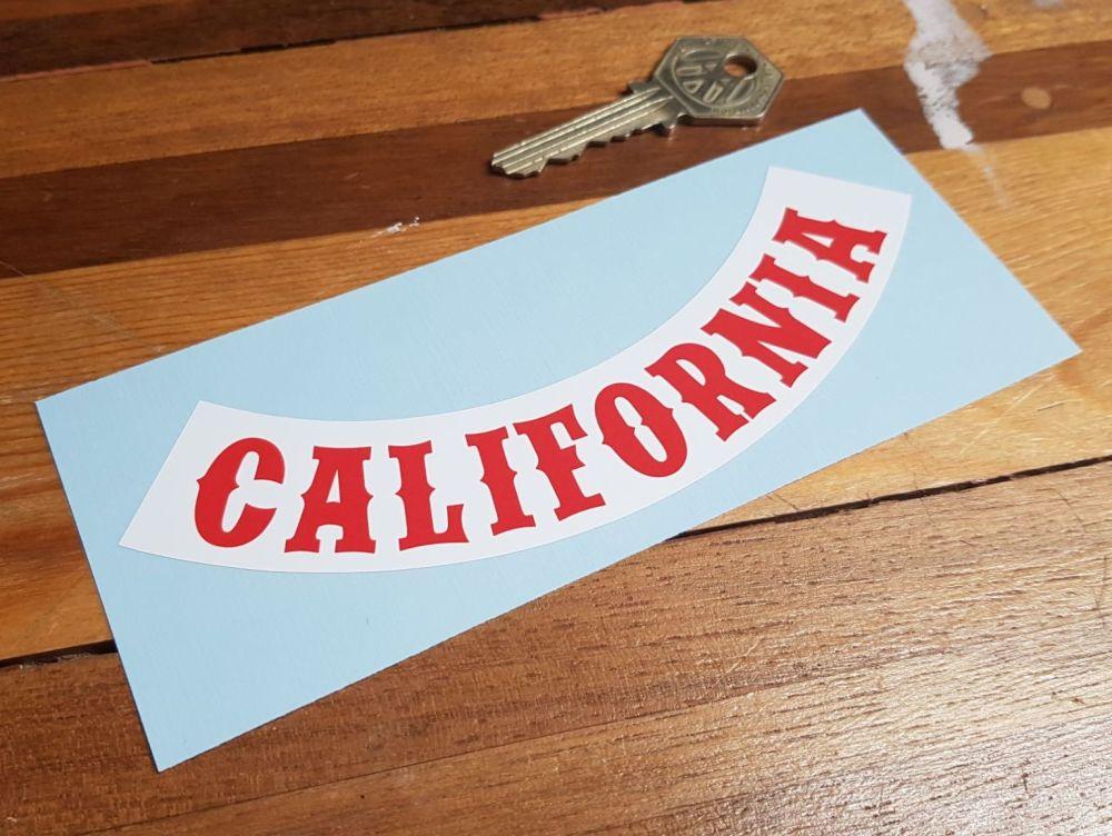California Banner Style Sticker 6