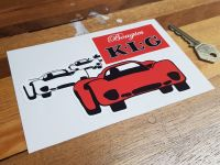 K.L.G Bougies (Spark Plugs)  Sticker 6