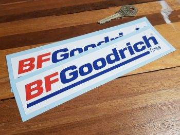 "BF Goodrich Tires Stickers 7"" Pair"