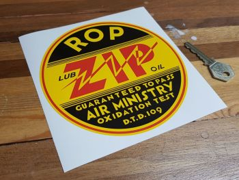 ROP Russian Oil Products ZIP Sticker 6""