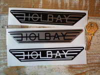 Holbay Winged Stickers. 6.75