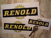 Renold Chain & Gear Cut to Shape Stickers. 3