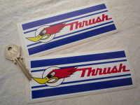 Thrush Oblong Stickers. 6